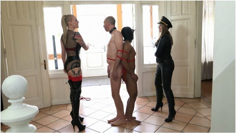 Mistress Cloe & Madita - Faceslapping Fun | SadoLadies