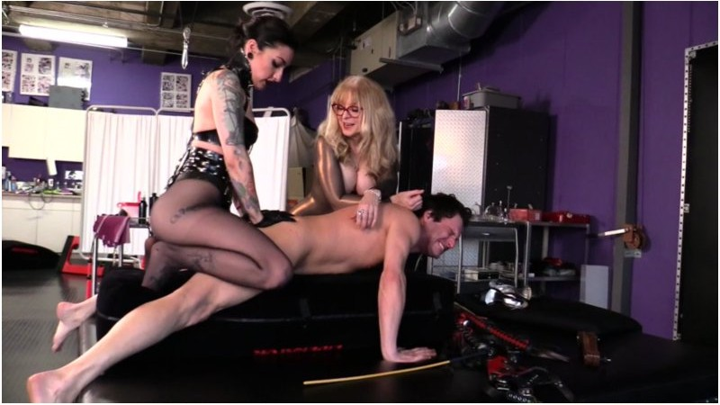 Cybill Troy FemDom Anti-Sex League - Strap-On Cluster-Fucked
