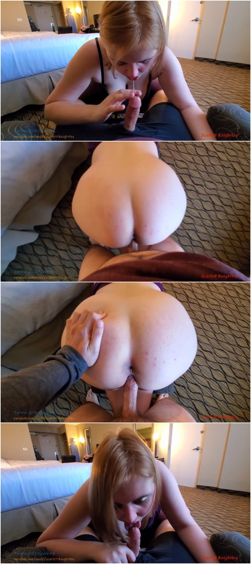 Scarlett Knightley - My First Creampie   Pornhub